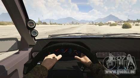 GTA 5 Volvo 945 Rückansicht