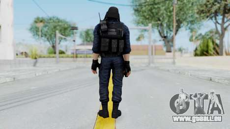 GIGN 1 Masked from CSO2 pour GTA San Andreas troisième écran