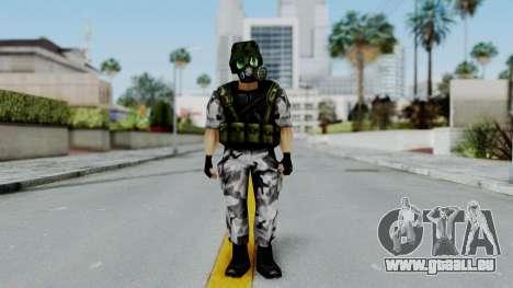Shephard from Half-Life Opposing Force pour GTA San Andreas deuxième écran