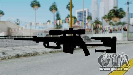 M2000 CheyTac Intervention without Stands pour GTA San Andreas troisième écran