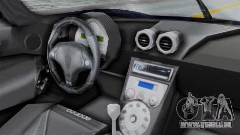Koenigsegg CCX für GTA San Andreas rechten Ansicht