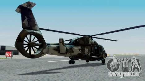 PO-34 Orca pour GTA San Andreas laissé vue