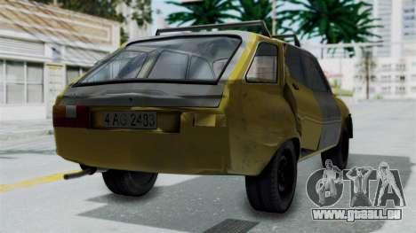 Dacia 1325 Liberta Rusty pour GTA San Andreas laissé vue