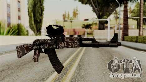AK-47 F.C. Camo pour GTA San Andreas