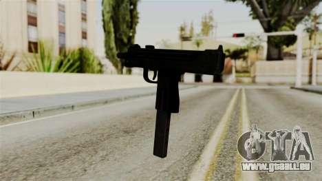 MAC-10 pour GTA San Andreas troisième écran
