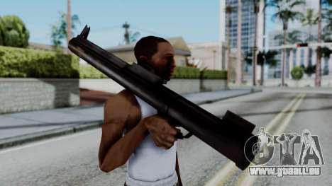 GTA 3 Rocket Launcher pour GTA San Andreas troisième écran