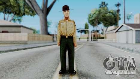 Instructor v1 from Half Life Opposing Force für GTA San Andreas zweiten Screenshot