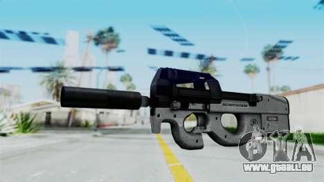 P90 Grey pour GTA San Andreas