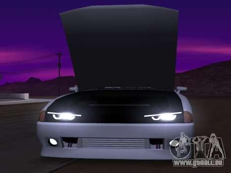 Elegy Evolution pour GTA San Andreas sur la vue arrière gauche