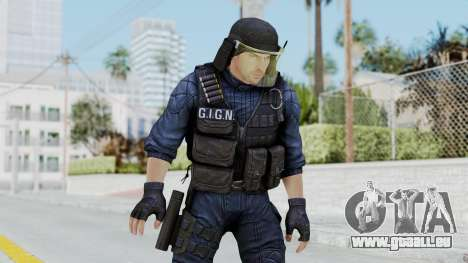 GIGN 1 No Mask from CSO2 pour GTA San Andreas