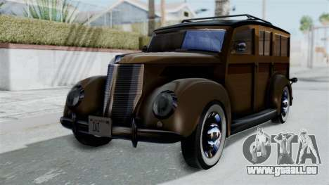 Lincoln Continental 1942 Mafia 2 v1 für GTA San Andreas