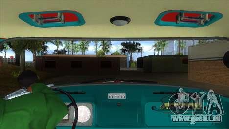 ZIL 130 AC-40 pour GTA San Andreas vue intérieure
