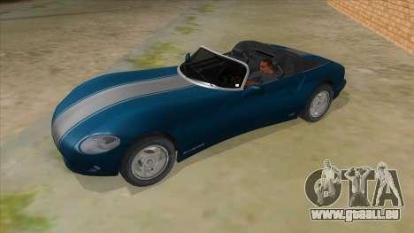 HD Banshee update für GTA San Andreas Seitenansicht