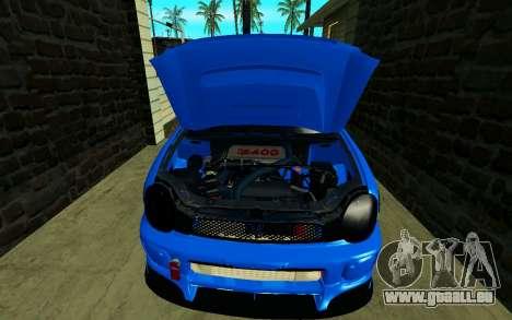 Subaru Impreza WRX STi Wagon 2003 für GTA San Andreas Rückansicht