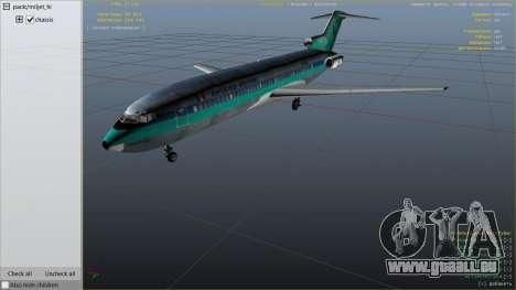 GTA 5 Boeing 727-200 sechster Screenshot