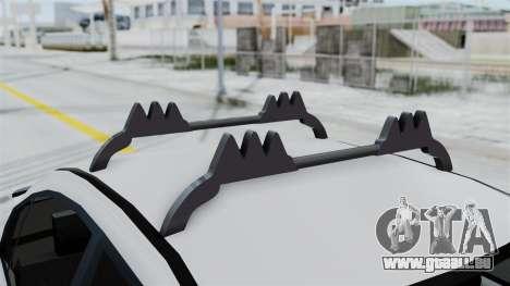Hyundai Accent Essential Garage pour GTA San Andreas vue arrière