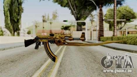 Dragon AK-47 für GTA San Andreas