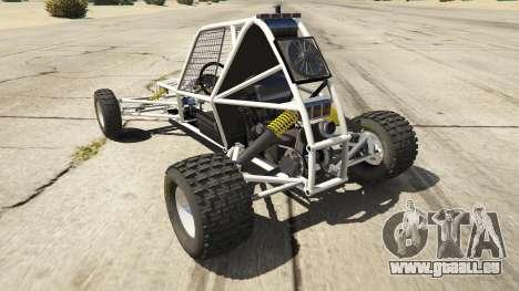 GTA 5 Kart Cross hinten links Seitenansicht