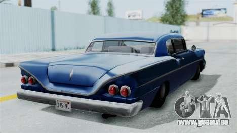 Augmentée De La Tornade pour GTA San Andreas vue de droite