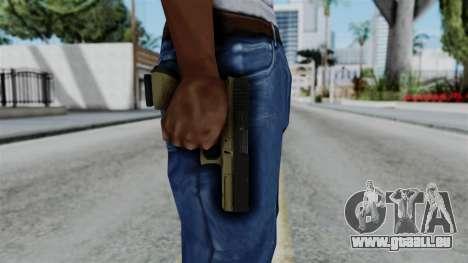 No More Room in Hell - Glock 17 pour GTA San Andreas troisième écran