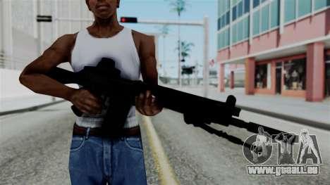 FN-FAL from CS GO with EoTech pour GTA San Andreas troisième écran