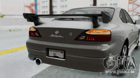 Nissan Silvia S15 Spec-R 2000 pour GTA San Andreas vue de dessus