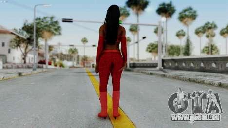 WWE Naomy pour GTA San Andreas troisième écran
