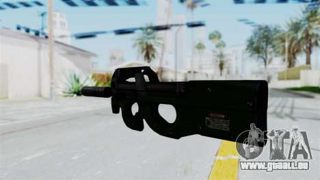 P90 Green pour GTA San Andreas deuxième écran