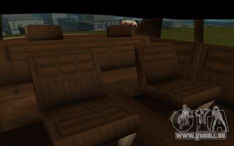 Tornado Limousine für GTA San Andreas rechten Ansicht