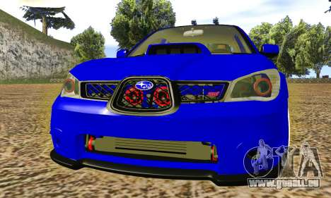 Subaru Impreza WRX STI Lisa pour GTA San Andreas