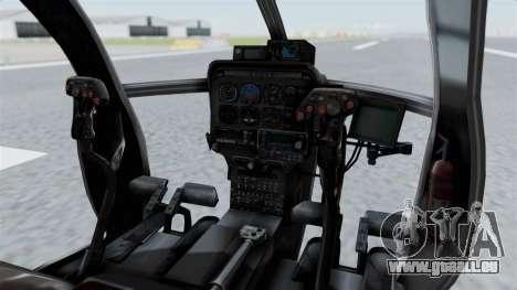 Makarovs Private MD-500 für GTA San Andreas rechten Ansicht