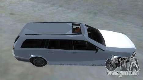 GTA LCS Sindacco Argento pour GTA San Andreas vue intérieure