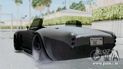 GTA 5 Mamba pour GTA San Andreas laissé vue