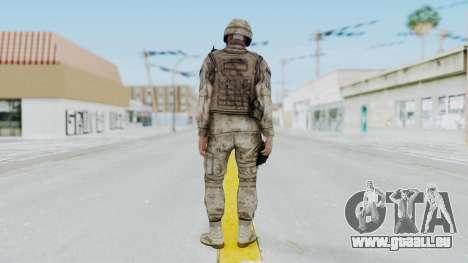 Crysis 2 US Soldier 1 Bodygroup A pour GTA San Andreas troisième écran