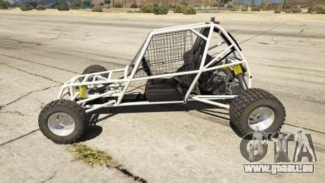 GTA 5 Kart Cross linke Seitenansicht