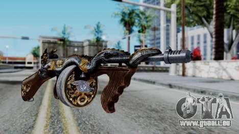 Dragon Thompson pour GTA San Andreas deuxième écran