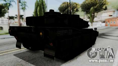 Point Blank Black Panther Woodland IVF pour GTA San Andreas laissé vue
