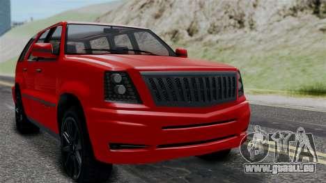 GTA 5 Albany Cavalcade v2 für GTA San Andreas