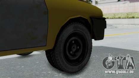 Dacia 1325 Liberta Rusty pour GTA San Andreas sur la vue arrière gauche