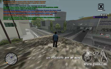 WH Nick Name für GTA San Andreas dritten Screenshot