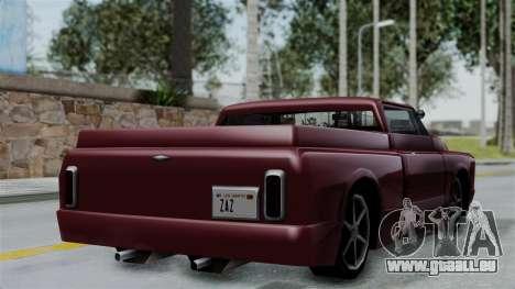 Slamvan Milt-Lorry für GTA San Andreas linke Ansicht