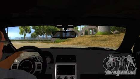 2012 DODGE CHALLENGER SRT8 Liberty Walk für GTA San Andreas Innenansicht