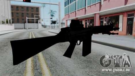 FN-FAL from CS GO with EoTech pour GTA San Andreas deuxième écran