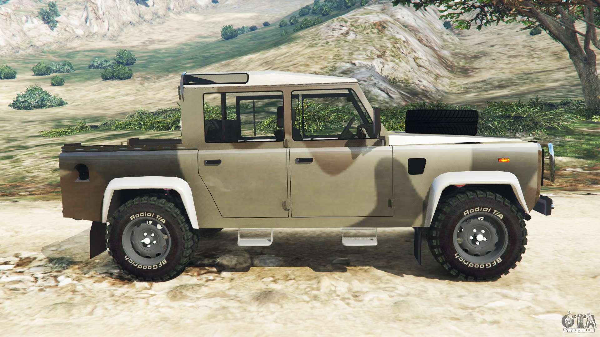 Land Rover Defender 110 >> Land Rover Defender 110 Pickup pour GTA 5