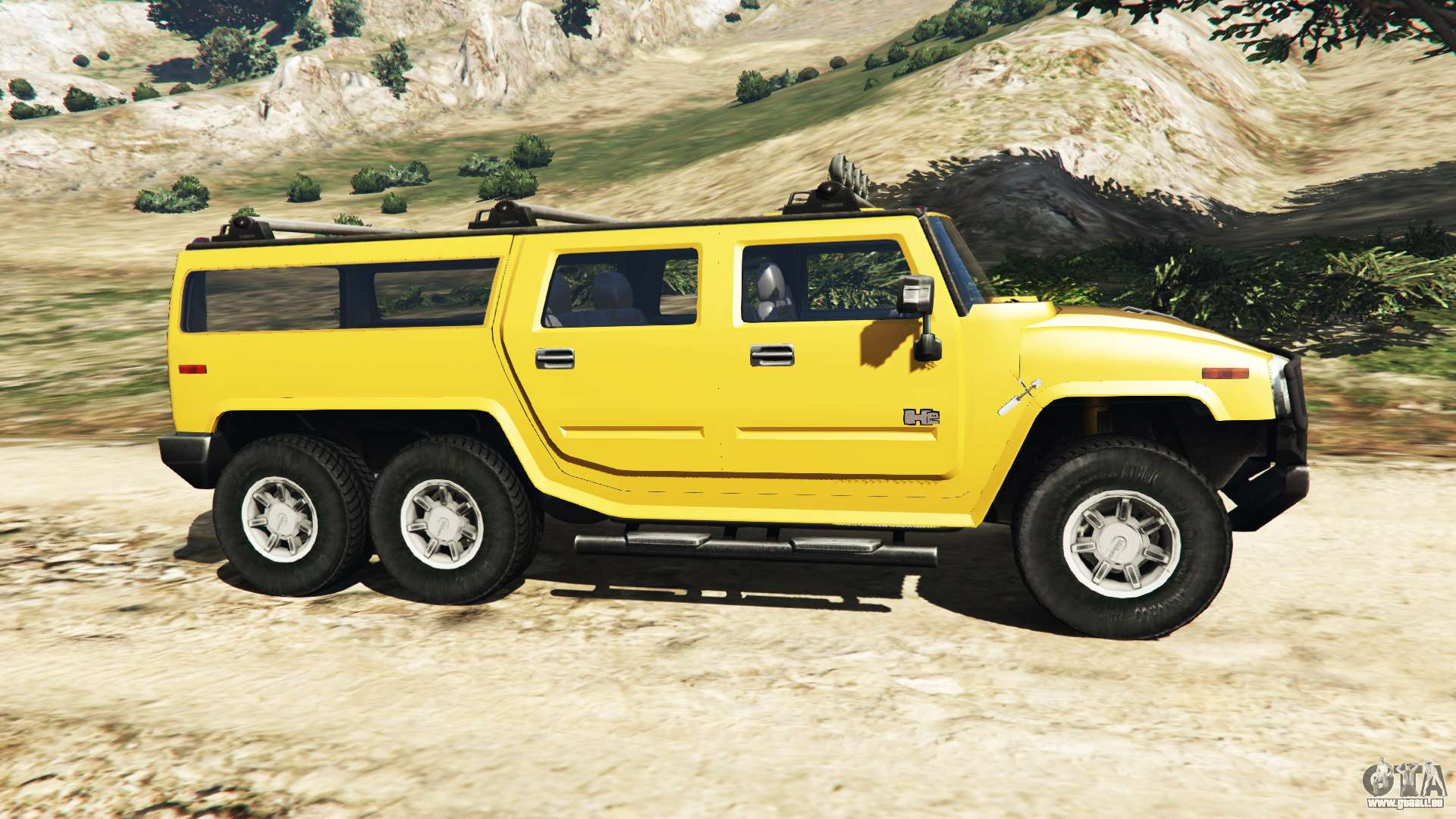 hummer h2 6x6 v2 0 f r gta 5. Black Bedroom Furniture Sets. Home Design Ideas