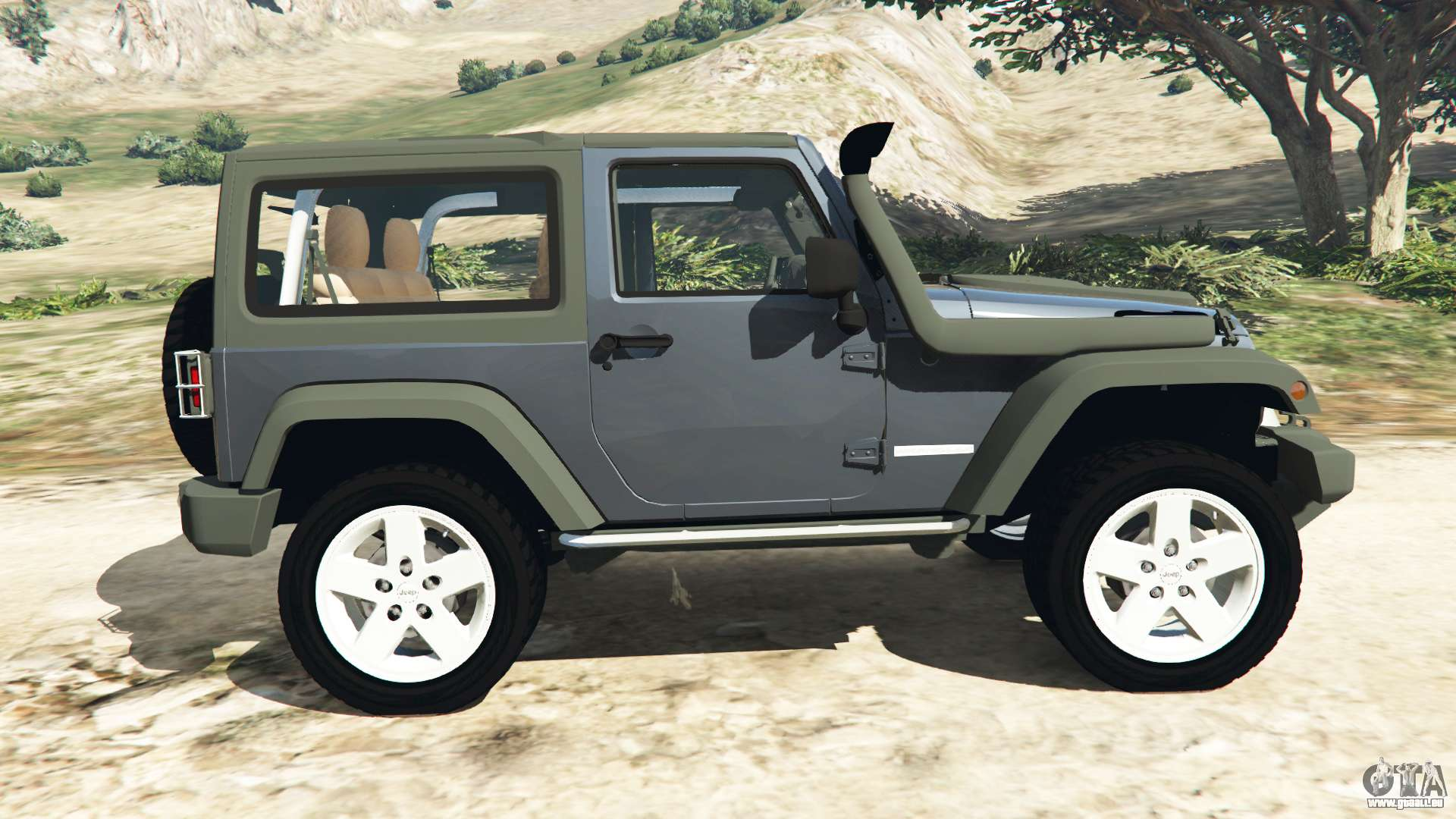 jeep wrangler 2012 v1 1 pour gta 5. Black Bedroom Furniture Sets. Home Design Ideas