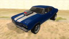 1970 Chevrolet Chevelle SS Drag pour GTA San Andreas