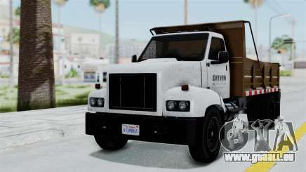 GTA 5 Tipper Second Generation pour GTA San Andreas