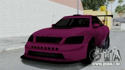 GTA 5 Karin Sultan RS Drift Double Spoiler für GTA San Andreas