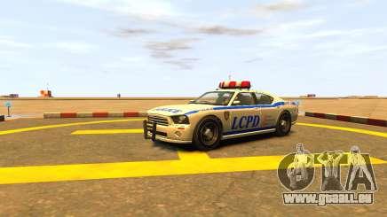 Bravado Buffalo Police Patrol [original wheels] pour GTA 4
